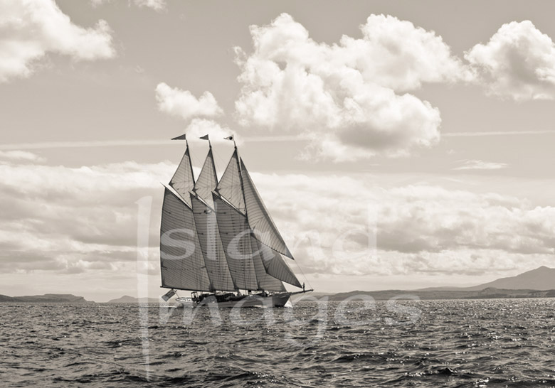 Yachting on the Clyde Black and White Photography